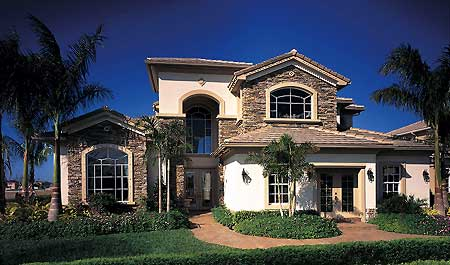 This Thoughtfully Designed Home Features A Two Story Foyer Which Opens To Formal Living Room And Dining Both Accented By Coffered Ceiling